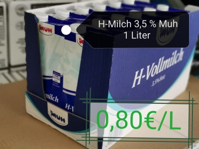 H-Milch 3,5% Muh
